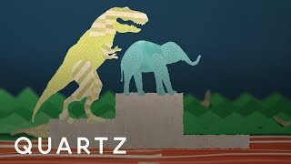 Could a T. rex beat an elephant in a race?