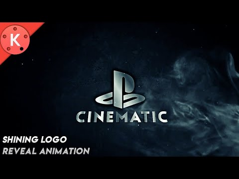 How to Make Shining Logo Reveal intro Animation Kinemaster Android Youtube intro maker app
