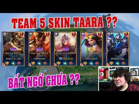 UTS Channels | Cảm Xúc Khi Gặp Team 5 Taara Có Skin Khác Nhau ? | Taara Hồng Môn Đường Chủ Cân Hết