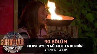 Survivor 2018 | 90. Bölüm | Merve Aydın Gülmekten Kendini Yerlere Attı!