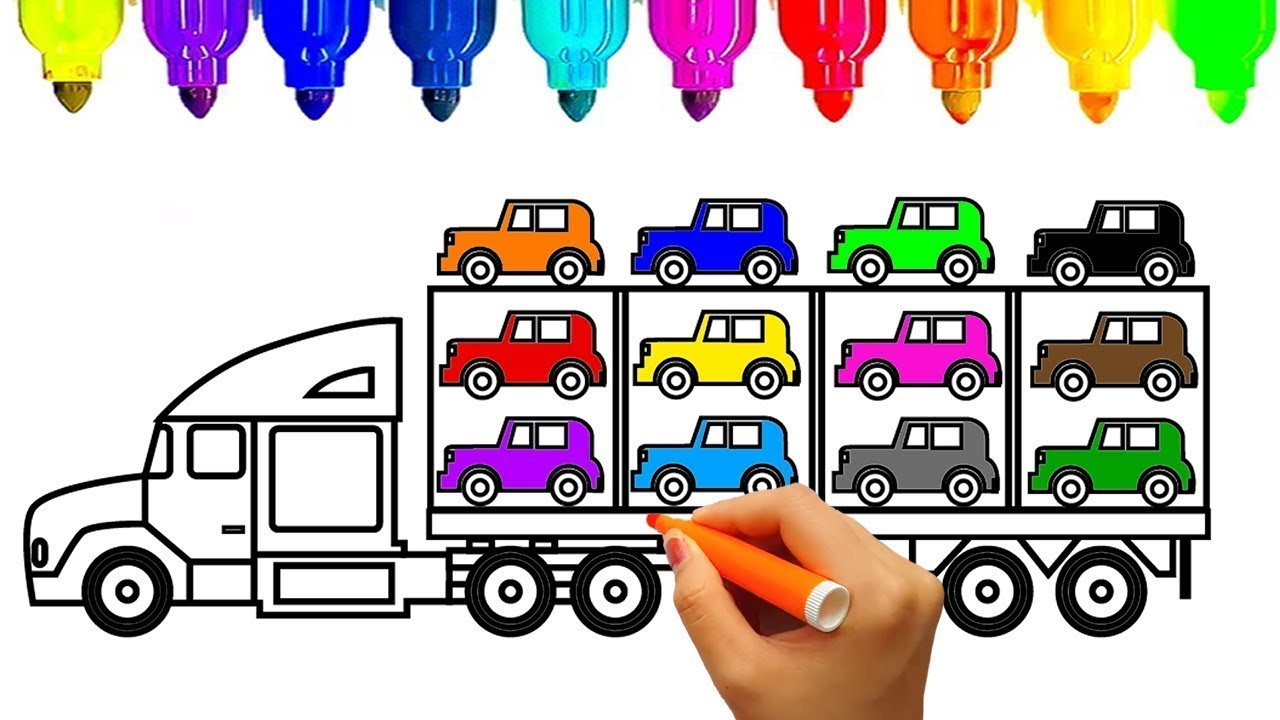 coloring pages : Cars And Trucks Coloring Pages Best Of Truck ... | 720x1280