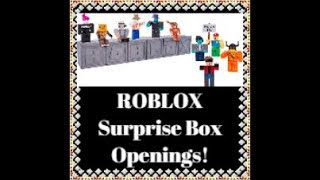 🤖🎁ERIC opens ROBLOX Surprise Boxes!! Series 2... !!