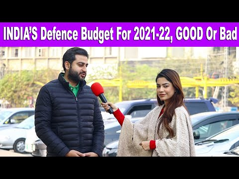 What Pakistani Public Has To Say About INDIA'S DEFENCE BUDGET | Pakistani Public Reaction
