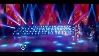 Showmatch 2014 - Laurita Fernández infartante: el reggaetón con Pachano