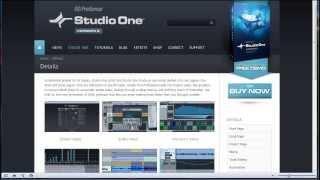 PreSonus Studio One Pro 2 Урок 1. Вступительное слово