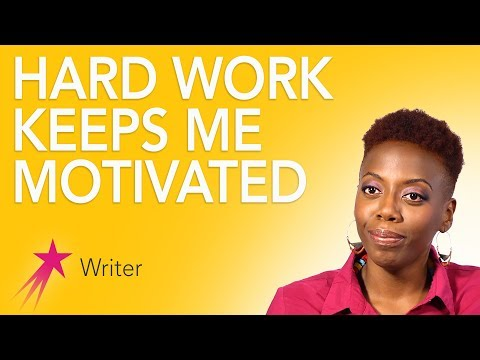 Writer: Staying Motivated - Fungai Machirori Career Girls Ro