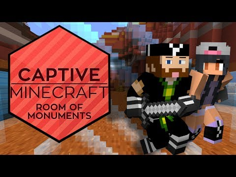 Captive Minecraft: Room of Monuments! CAPTAIN Minecraft! [Ep