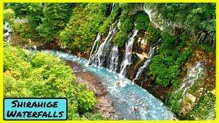 Shirahige Waterfalls (Biei) - Hokkaido | 【SUB ITA】