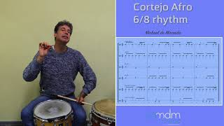 A 6/8 rhythm from Bahia with African infuences