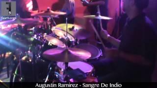 Augustin Ramirez - Sangre De Indio (Live  @Texas Club Bar & Grill, Austin, TX) Drum Cam