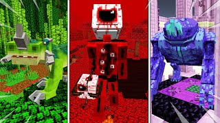 MINECRAFT TOP 10 MOB MODS - FORGE 1.15.2