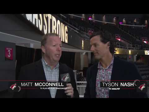 Matt McConnell & Tyson Nash on Vegas' Home Opener