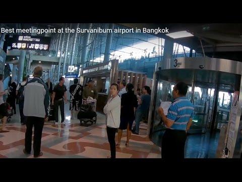 Best meeting point at Suvarnabhumi airport in Bangkok