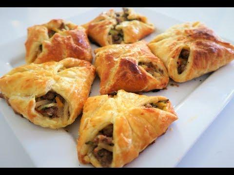 recette-97:-beef-and-vegetables-pastries-/-feuilleté-à-la-viande-hachée-et-aux-légumes
