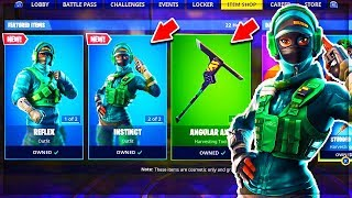 "🔴 NEW SKIN ""NVIDIA"" in the BOUTIQUE of 3 MARCH on Fortnite!"