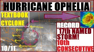 Hurricane OPHELIA! ANOTHER Record Breaker! Cyclone Formation Size of TEXAS Moving IN2 GULF!