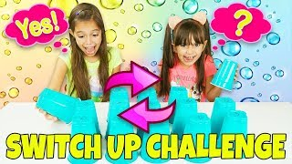 SIS vs SIS SWITCH UP CHALLENGE with NEW Surprise Toys