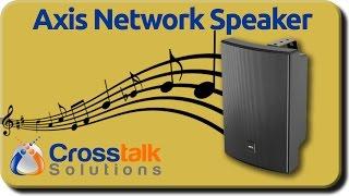 Axis Network Speaker C1004-E