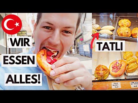 Türkische Bäckerei in ISTANBUL! Wir probieren ALLES! - Weltreisevlog 56