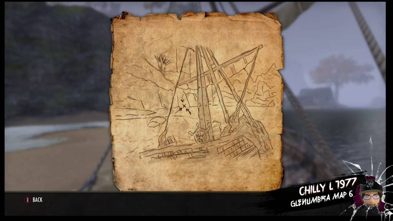 The Elder Scrolls Online Glenumbra treasure map 6 vi