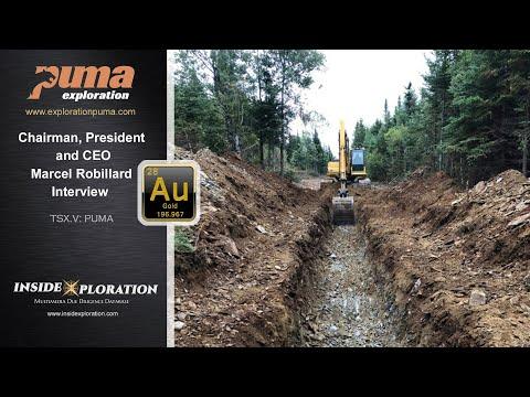 High Grade Gold Discovery in the Bathurst Mining Camp - PUMA Exploration (TSX.V: PUMA)