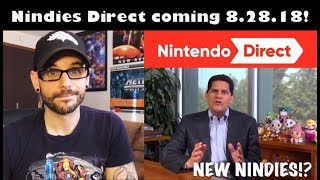 Nindies Nintendo Direct announced! New games CONFIRMED! | Ro2R