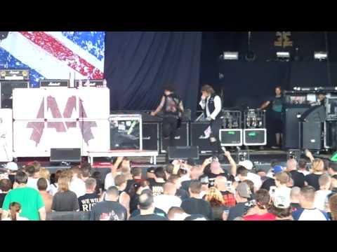 Asking Alexandria - Breathless - Mayhem Fest 2012 - Pittsburgh, PA