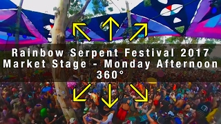 Rainbow Serpent Festival 2017 - Market Stage - Monday Afternoon
