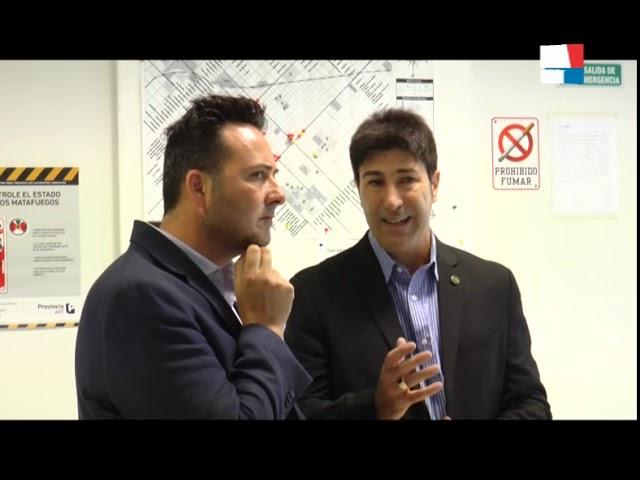 DARIO CIMINELLI   MARCELO LOYOLA   VICTOR AIOLA   PRESENTACION NUEVO DIRECTOR GENERAL DE SEGURIDAD