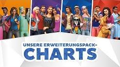 Unsere Erweiterungspack-Charts | sims-blog.de
