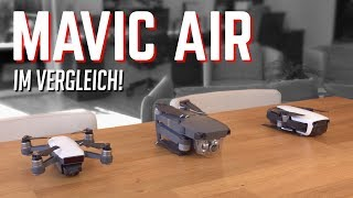 DJI Mavic Air vs Mavic Pro & Spark: Drohnen-Vergleich! | OwnGalaxy
