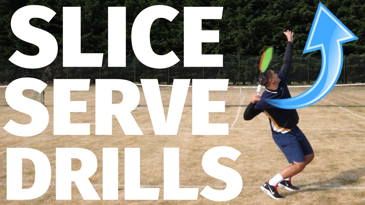 Tennis Slice Serve Drills - 3 Ways To Improve Your Slice Serve