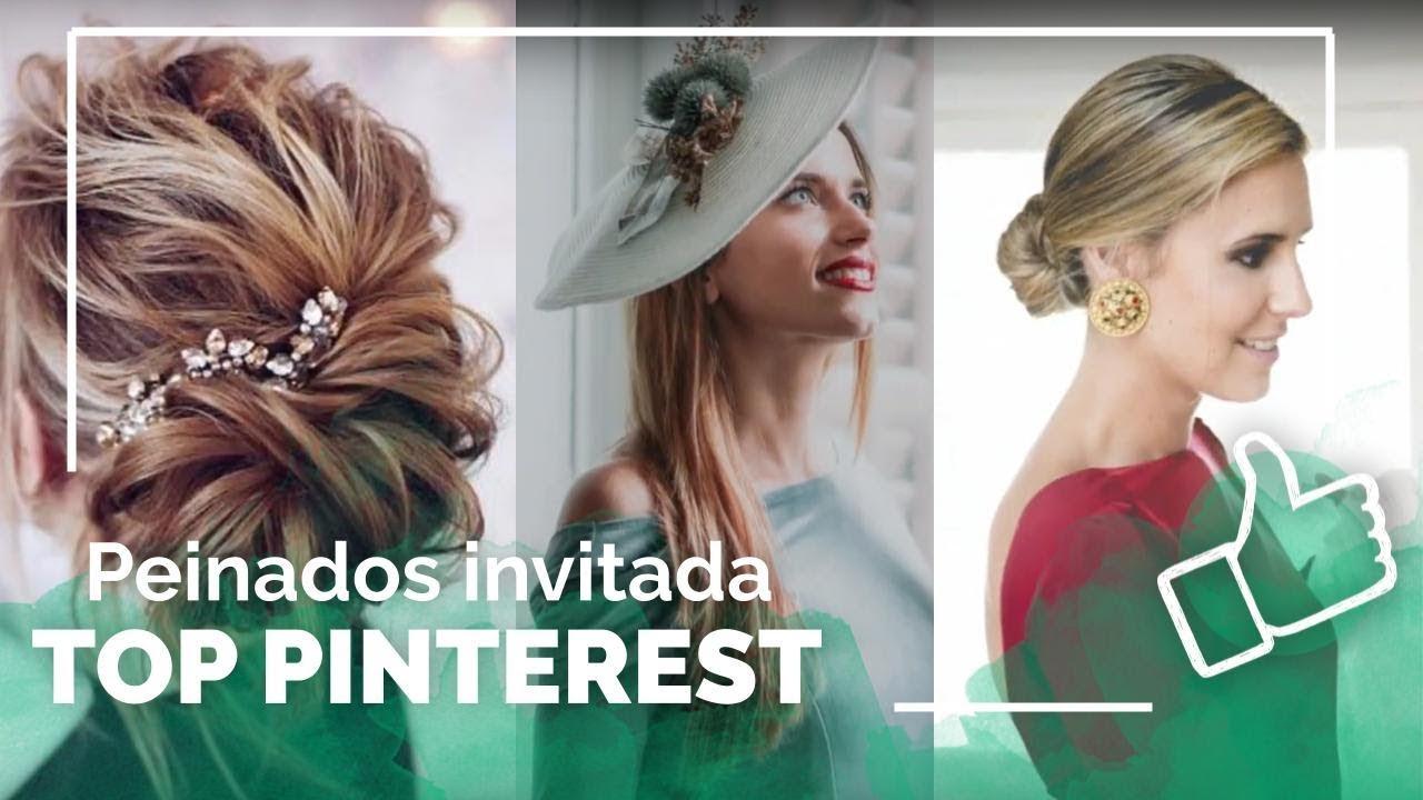 Peinados para invitadas a bodas 2020