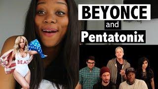 Evolution of Beyoncé - Pentatonix - REACTION!