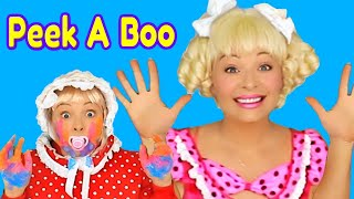 Peek A Boo Song | Nursery Rhymes for Kids, Toddlers and Baby