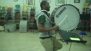 Timon Sherman, Supreme Overlord of Marching Bass Drum