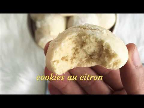Cookies au citron recette