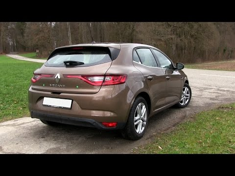 2017 Renault Megane ENERGY TCe 130 (132 HP) TEST DRIVE
