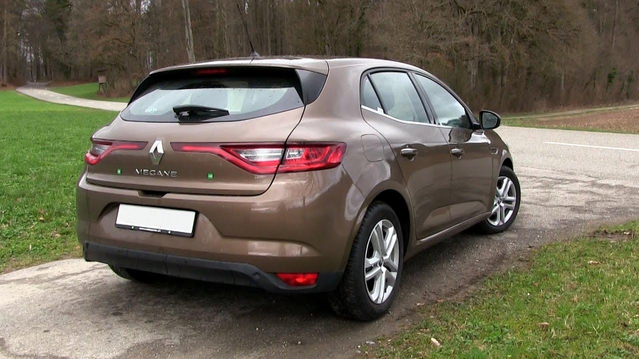 2017 renault megane energy tce 130 132 hp test drive youtube. Black Bedroom Furniture Sets. Home Design Ideas