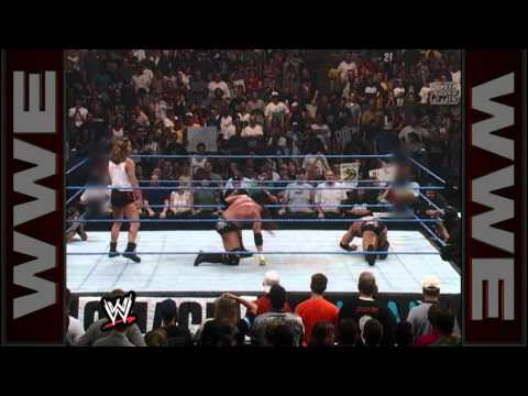 The official SmackDown premiere, WWE Champion Triple H vs. The Rock