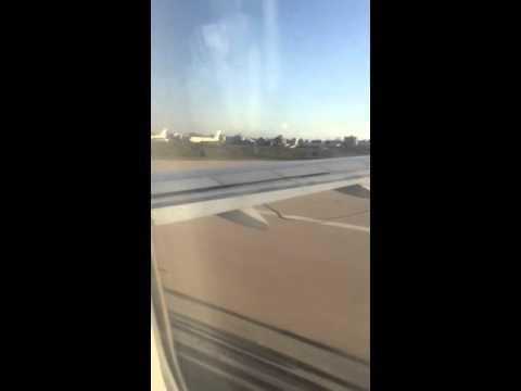 Flying from Libya
