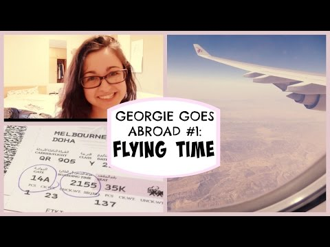 FLYING TIME | GEORGIE GOES ABROAD  #1