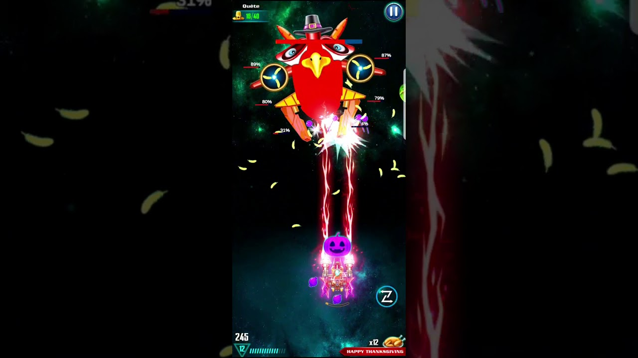 [Event Thanks Giving] Level 20 GALAXY ATTACK: ALIEN SHOOTER | Best Arcade Shoot'up Game