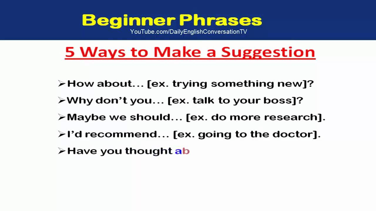 Are You Ready To Learn English Basic Sentences - Learn ...