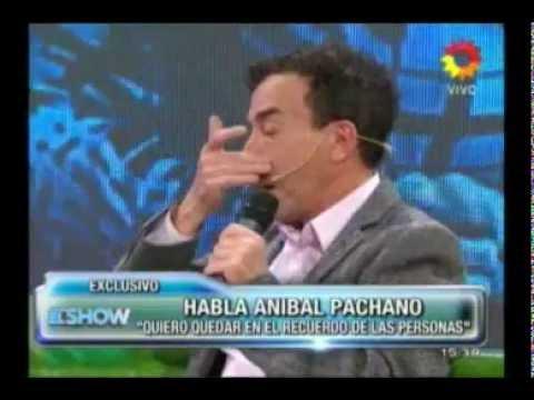 Anibal Pachano confirmado y emocionado en Este es el show