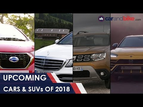 Upcoming Cars and SUVs For 2018 | NDTV carandbike
