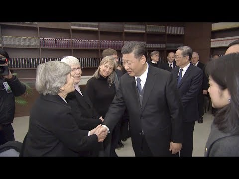 Xi Jinping meets Nanjing Massacre survivors