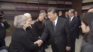 Xi Jinping meets Nanjing Massacre survivors