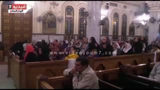 بالفيديو.. القمص صليب متى يترأس صلاة عيد الغطاس 2017 بكنيسة مارجرجس الجيوشى