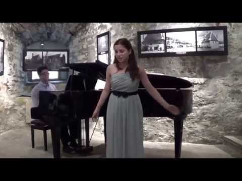 Performance at the old Castle in Tallinn Estonia Part 1